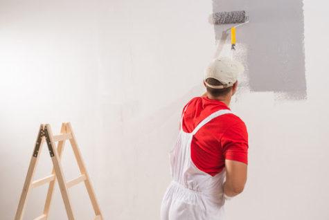 Malování interiéru rodinného domu